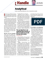 Let's Get Analytical - Big Data and Race Tracks
