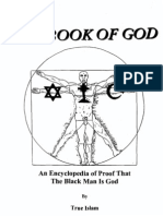 (Book of God) an Encyclopedia of proof that the Blackman is God