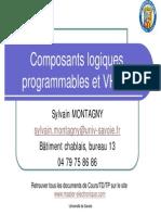 Cours - Composants Logiques Programmables Et VHDL