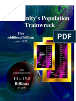 Humanity's Population Trainwreck - 10 to 15.8 billion by 2100?