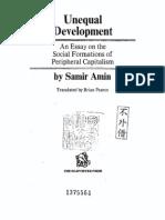 Samir Amin Unequal Development 1977