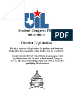 2013-14 Congress Legislation UIL