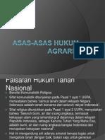 Asas-asas Hukum Tanah.pptx