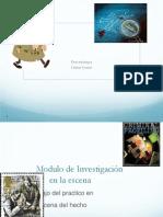 Modulo de Investigación en la Escena del Crimen