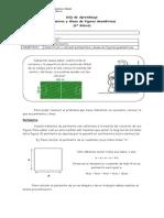 Guía de Aprendizaje, área y perímetros 4 básico