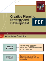 Creative Planning, Strategy, and Development