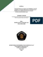 Jurnal Betha Intan Junetha M.S 0910113088