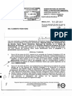 DGIRA analiza 2ª Etapa Libramiento Sur Morelia