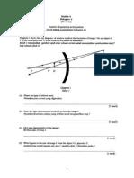 F4 PHYSICS FINAL EXAM PAPER 2 2013