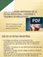 Enfermedades Derivadas de La Fatiga Industrial