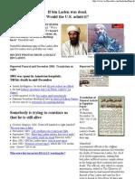 Bin Laden Has Funeral