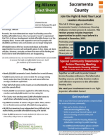 Affordable Housing Fact Sheet - Sacramento County