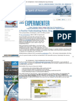 EAA - EAA Experimenter - A Tool for Understanding Power, Drag, and Prop Design.pdf