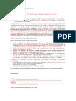 Derecho de Peticion VIH