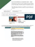 Como Registrarse en La Plataforma Cisco