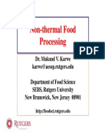 Non-Thermal Food Processing 2008 KarwePDF