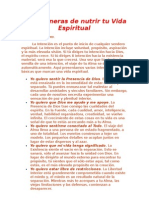 Diez Maneras de Nutrir Tu Vida Espiritual - Deepak Chopra - Doc