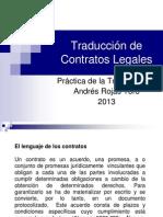 Traduccion de Contratos Legales.ppt