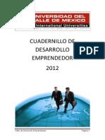 CUADERNILLO.DESARROLLO EMPRENDEDOR.2011