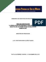 SEMINARIO DE INVESTIGACIÓN EDUCATIVA II