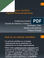 lapublicacincientifica-recomendaciones-121219093217-phpapp02