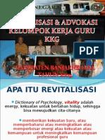 Revitalisasi KKG Kab. Banjarnegara