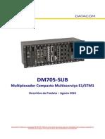 134-0020-16 - DM705-SUB Descritivo Do Produto