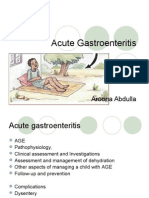 Acute Gastroenteritis | Diarrhea | Medical Specialties