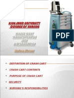 Crash Cart- Cardioversion & Defebrilation - Hatem Alsrour