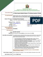 Dr Perfecto Buyamba Kabanshi- Resume