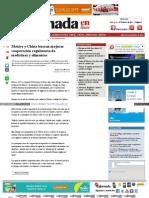 México y China buscan mejorar cooperación regulatoria de medicinas y alimentos