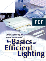 Lighting Handbook the Basics of Efficient Lighting