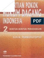 Pengertian Pokok Hukum Dagang Indonesia 2