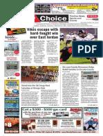 Weekly Choice - October 24, 2013