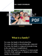 A4  What is a Family