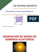 Generacion de Numeros Aleatorios