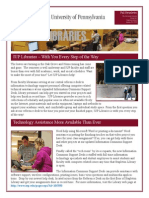 IUP Libraries Fall 2011 Newsletter