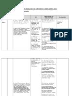 Planificacion Anual Historia 2013
