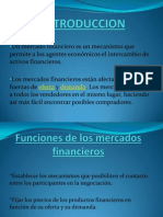 Mercados Financieros - Teoria Monetaria (Exposicion)