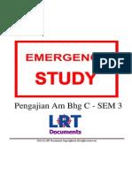 [EMERGENCY STUDY] Pengajian Am Bhg C - SEM 3