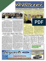The Village Reporter - November 6th, 2013