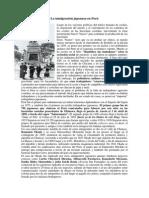 La inmigración japonesa en Perú