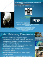 Evaluasi Implementasi Kebijakan Pengusahaan Pariwisata Alam ( PPA ) Taman Nasional Bali Barat