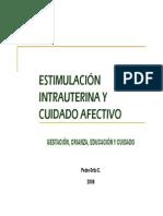 Estimulacion Intrauterina y Cuidado Afectivo1