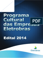 Edital Programa Cultural Das Empresas Eletrobras 2014