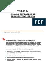 Analisis de Pruebas de Transiente de Presion