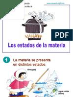 QUÍMICA.LOS ESTADOS DE LA MATERIA.2