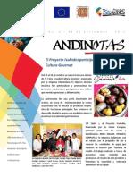 El Proyecto IssAndes participó en la Feria Ecuador Cultura Gourmet