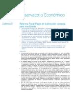 Reforma Fiscal México - BBVA Research
