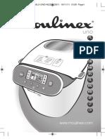 Manual de utilizare aparat de facut paine Moulinex OW3106
